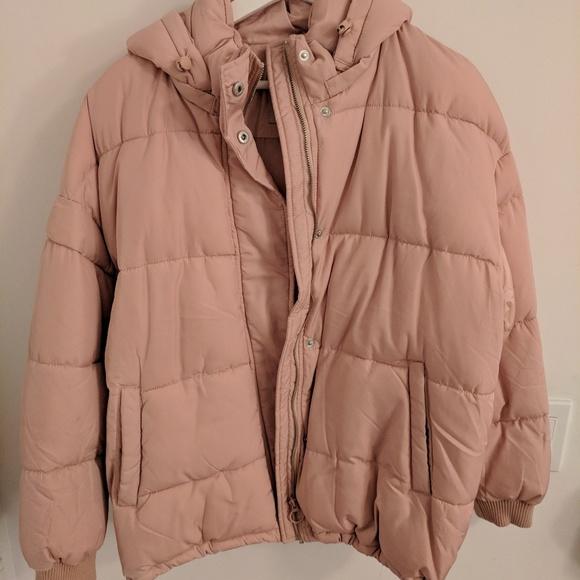 11dfc65d26715 Pull&Bear Jackets & Coats | Pullbear Puffer Jacket With Hood | Poshmark